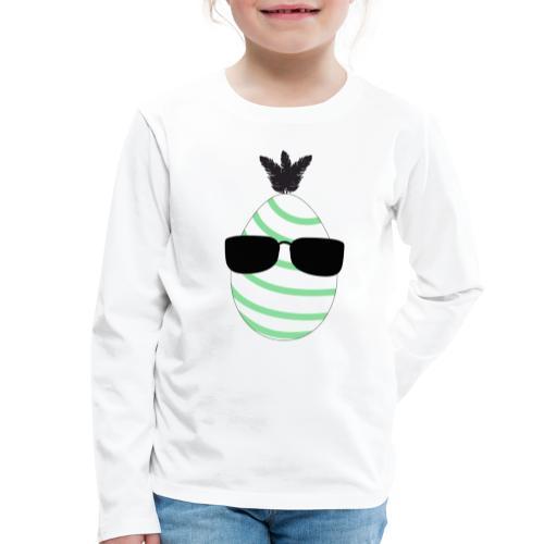 EasterDude, grön - Långärmad premium-T-shirt barn