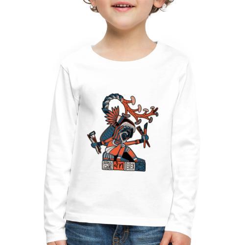 MAESTRO MEZCALERO PREHISPÁNICO - Camiseta de manga larga premium niño