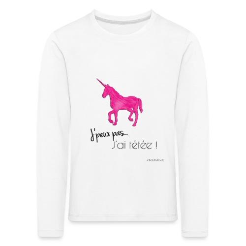 Tetee ! - T-shirt manches longues Premium Enfant