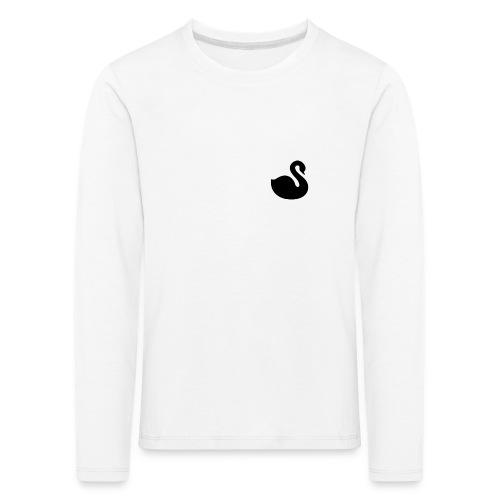 Swan S/S Kollektion - Børne premium T-shirt med lange ærmer