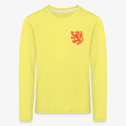 Orange lion Replica Holland 1974 - Kids' Premium Longsleeve Shirt