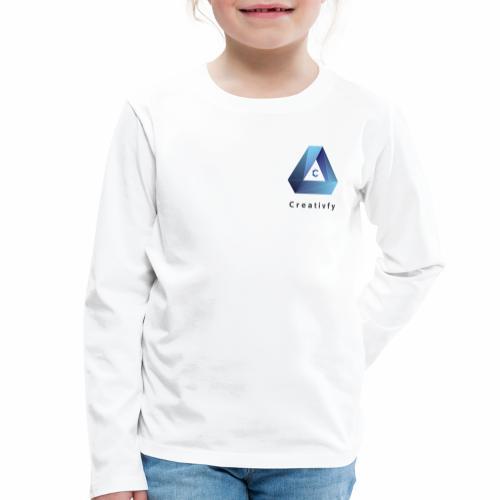 creativfy - Kinder Premium Langarmshirt