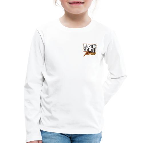 master gentil tomas logo - T-shirt manches longues Premium Enfant