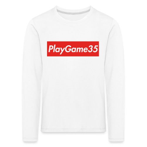 PlayGame35 - Maglietta Premium a manica lunga per bambini