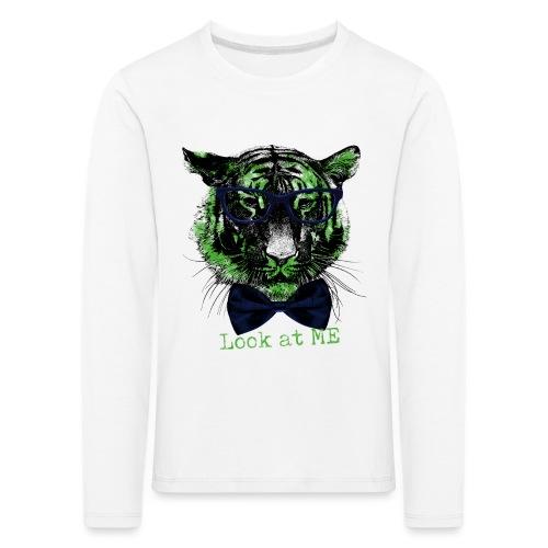 Tigerkopf_Look at me - Kinder Premium Langarmshirt
