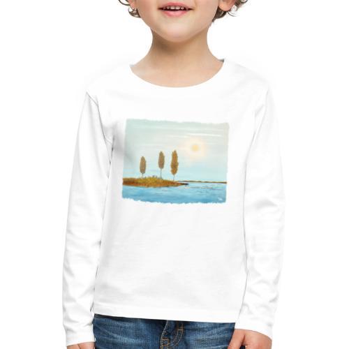 Herfst kleuren in Lapland - T-shirt manches longues Premium Enfant