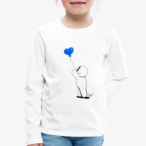 BallonSnap Bleu - T-shirt manches longues Premium Enfant
