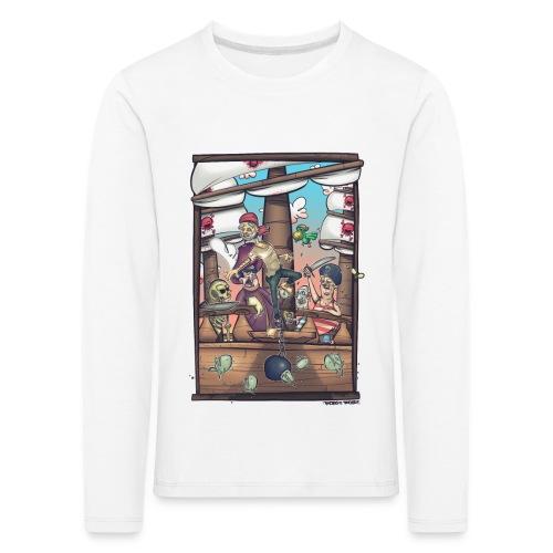 les pirates - T-shirt manches longues Premium Enfant