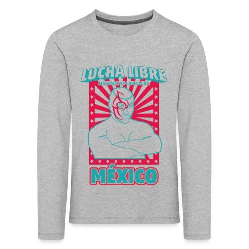Lucha Libre Mexico 3 - Camiseta de manga larga premium niño