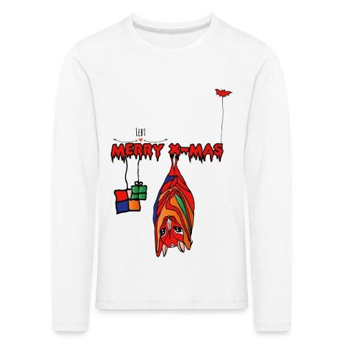 Merry X-MAS - Kinder Premium Langarmshirt