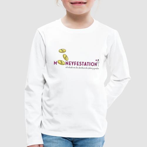 moneyfestation - Kinder Premium Langarmshirt