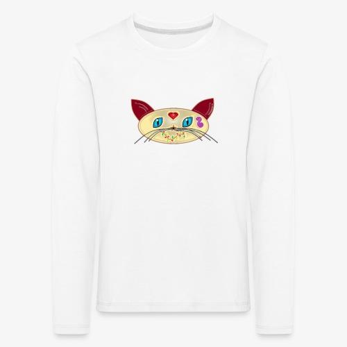 GATO PAOART - Camiseta de manga larga premium niño