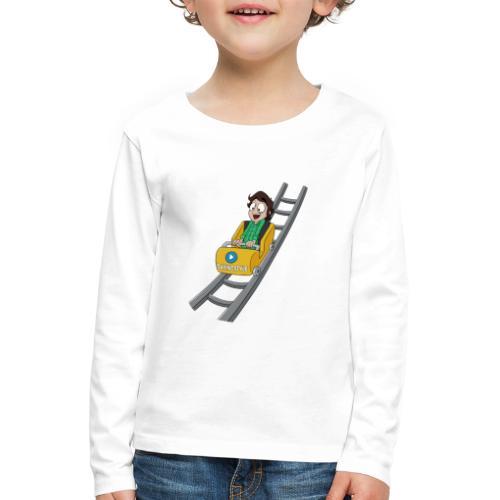 Davincstyle_Coaster_3 - Kinderen Premium shirt met lange mouwen