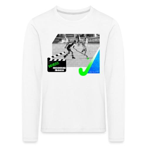 Team #Hockeyliebe weiß - Kinder Premium Langarmshirt