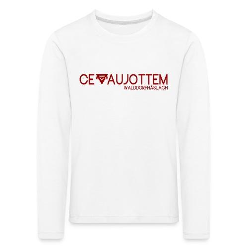 motiv1 red png - Kinder Premium Langarmshirt