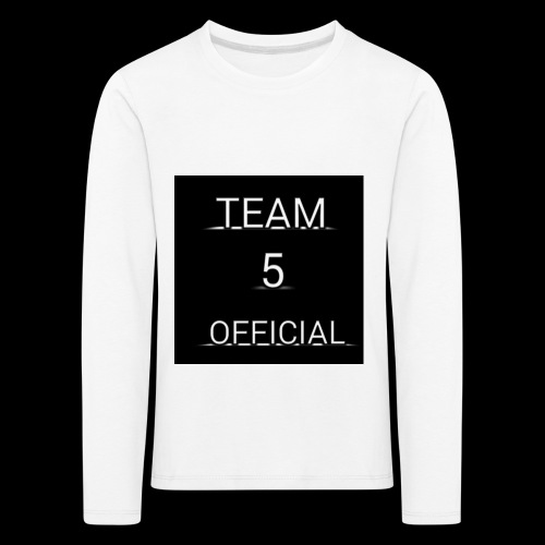 Team5 official 1st merchendise - Kids' Premium Longsleeve Shirt