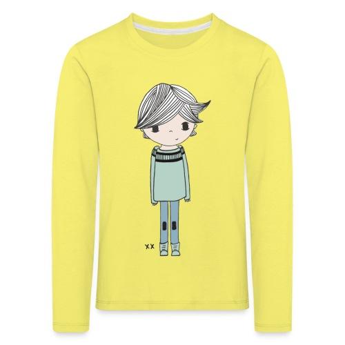 jongetje - Kinderen Premium shirt met lange mouwen