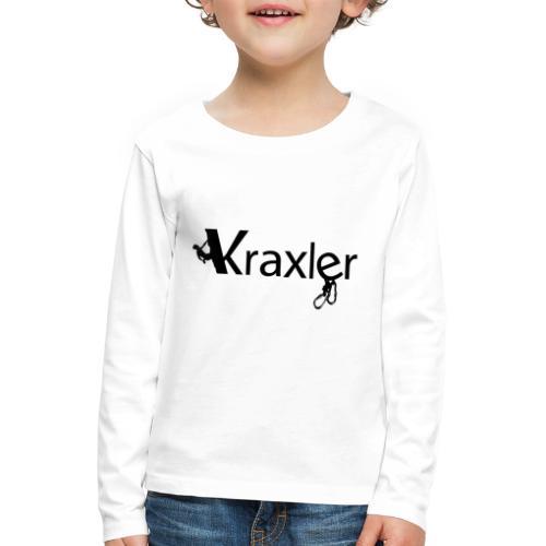 Kraxler - Kinder Premium Langarmshirt