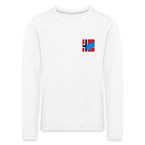 NorPot SAS ACE - Premium langermet T-skjorte for barn