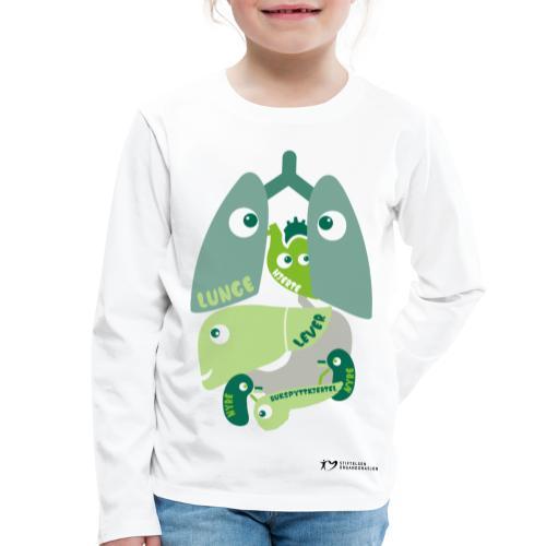 Organene - Premium langermet T-skjorte for barn