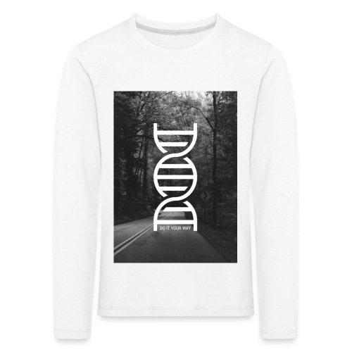 Fotoprint DNA Straße - Kinder Premium Langarmshirt