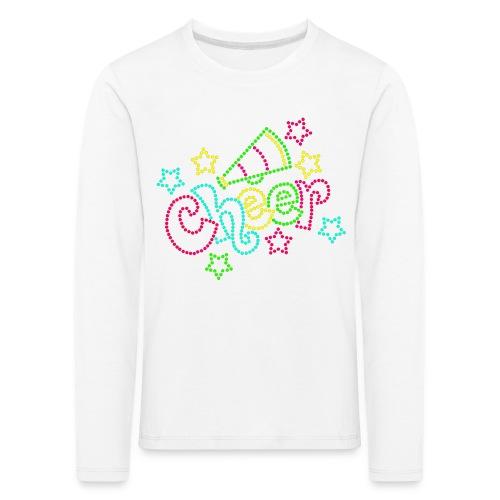 CheerBasic - Långärmad premium-T-shirt barn