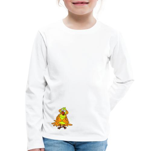 Vogel Nr 3 von dodocomics - Kinder Premium Langarmshirt