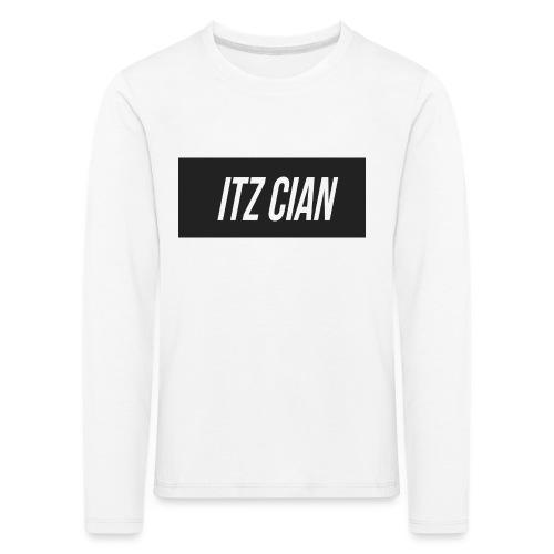 ITZ CIAN RECTANGLE - Kids' Premium Longsleeve Shirt