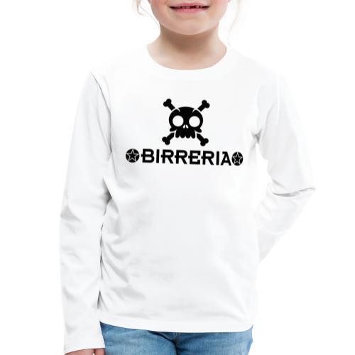 Kids Skull Birreria - Kinder Premium Langarmshirt