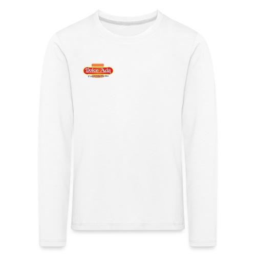 DolceAda il gusto della qualità - Maglietta Premium a manica lunga per bambini