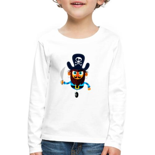 The Pirate King - Kids' Premium Longsleeve Shirt