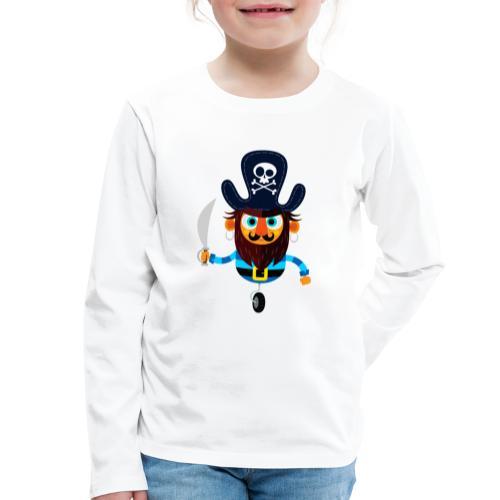 The Pirate King - Kids' Premium Longsleeve Shirt