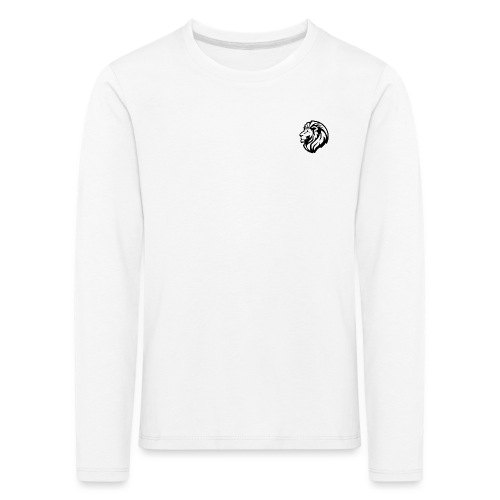 LION - Maglietta Premium a manica lunga per bambini