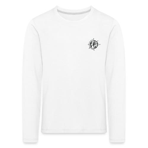 KOMPAS OFFICIAL - Kinderen Premium shirt met lange mouwen