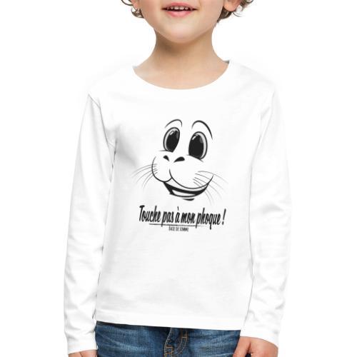 Touche pas à mon phoque de Baie de Somme - T-shirt manches longues Premium Enfant
