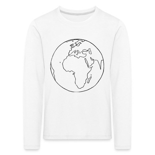 Mutter Erde - Kinder Premium Langarmshirt