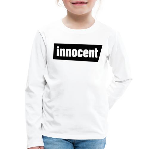 Innocent Black-Edition - Kinder Premium Langarmshirt