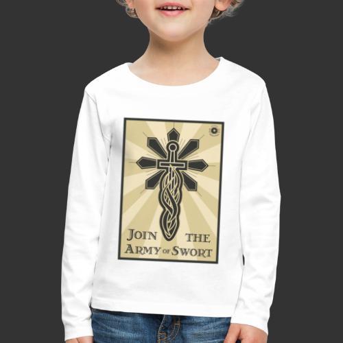 Join the army jpg - Kids' Premium Longsleeve Shirt