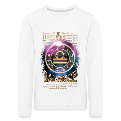 BALANCE - T-shirt manches longues Premium Enfant