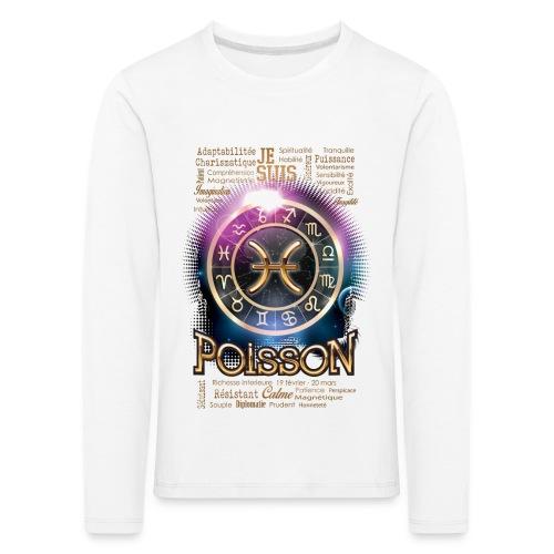 POISSONS - T-shirt manches longues Premium Enfant