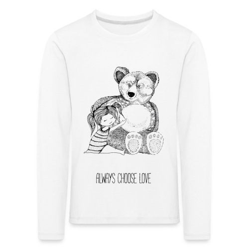 bear best friend - Kinder Premium Langarmshirt