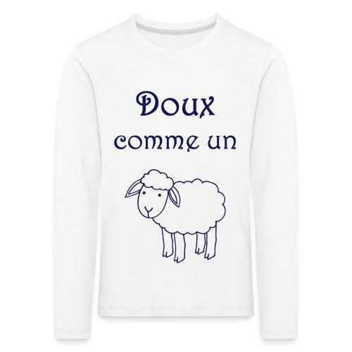 doux-comme-un-agneau-2 - T-shirt manches longues Premium Enfant