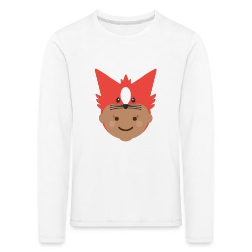 Florence the Fox | Ibbleobble - Kids' Premium Longsleeve Shirt