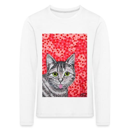 The Finnish Cat - Lasten premium pitkähihainen t-paita
