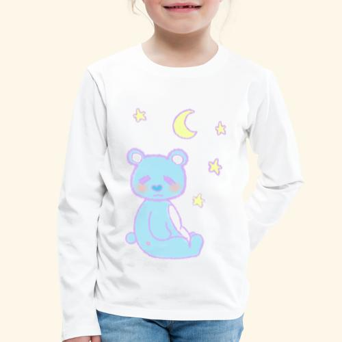 Sleepy bear - T-shirt manches longues Premium Enfant