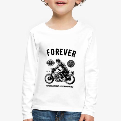 Deux roues pour toujours - T-shirt manches longues Premium Enfant