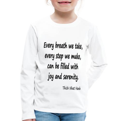 24/7 Peace - Kids' Premium Longsleeve Shirt