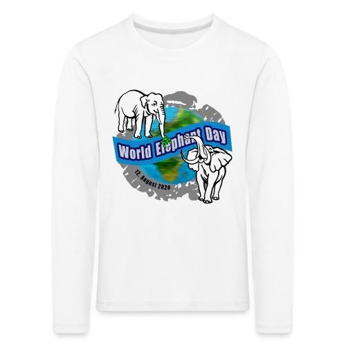 World Elephant Day 2020 - Kinder Premium Langarmshirt