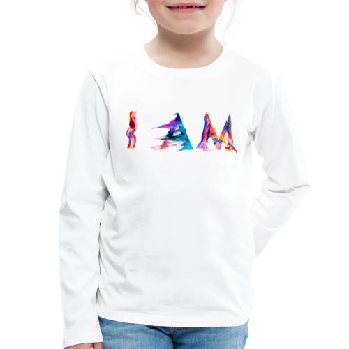I AM - T-shirt manches longues Premium Enfant