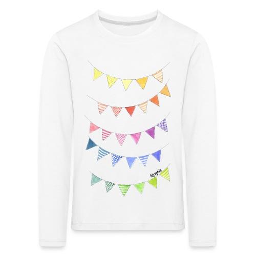 Vimplar - Långärmad premium-T-shirt barn
